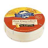 Camembert au lait cru - 22%mg