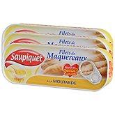Filets de maquereaux Saupiquet