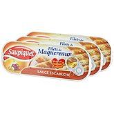Filets maquereaux Saupiquet