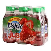 Eau Volvic Jus de fraise