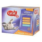 Sachet repas chats Lycat
