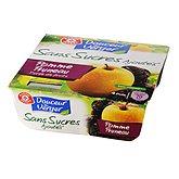 Dessert fruitier pomme pruneaux