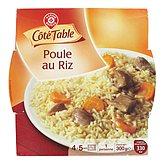 Poule au riz Côté table