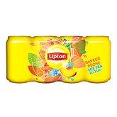 Thé glacé Lipton Ice Tea Pêche - 12x33cl