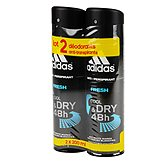 Adidas Déodorant  Fresh - 2x200ml