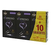 Café capsules l'Espresso Legal