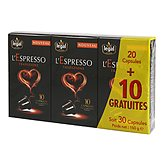 Café capsules l'Espresso Legal