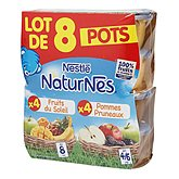 Purée fruits Naturnes 4/6 mois
