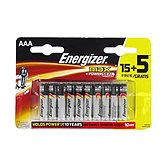 Energizer piles max LR03 (AAA) 15
